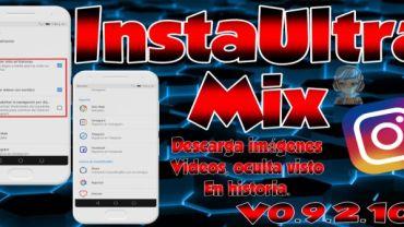 descargar mod instagram ultramix