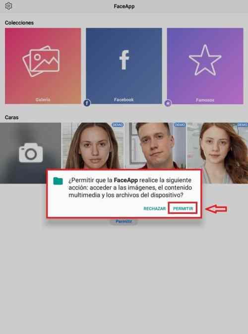 Cómo descargar y usar FaceApp 5