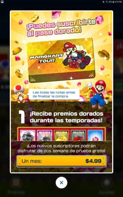 Mario Kart Tour para Android y iOS: Descarga v1.1.0 2