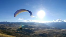 What an amazing place to paraglide