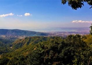 Blick auf Kingston von den Blue Mountains