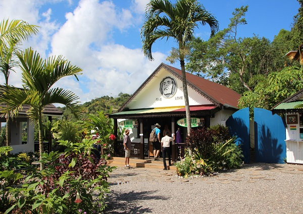 Bob Marley Mausoleum Jamaika