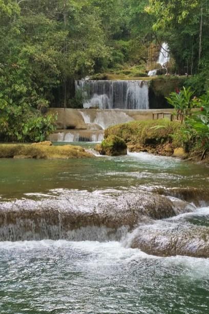 Wasserfall Süden Jamaika