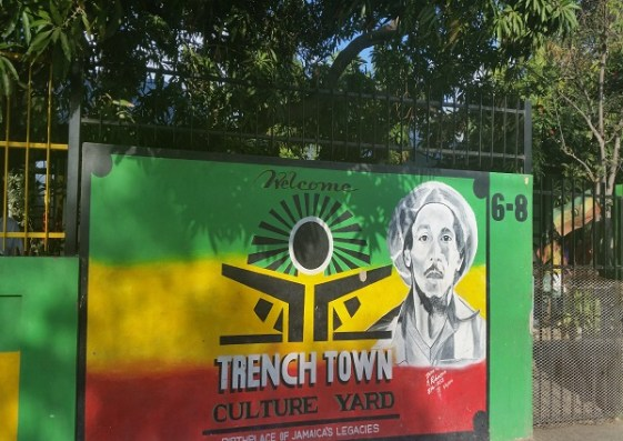 Trenchtown Culture Yard in Kingston/ Jamaika