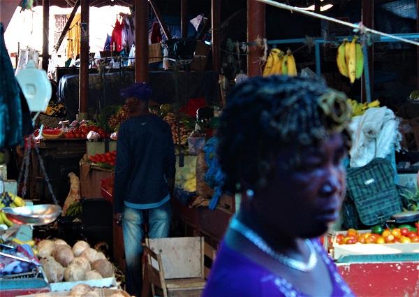 Markttreiben in Brownstown Jamaika