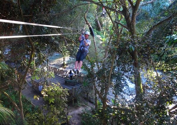 Chukka Falls Flyer Jamaica