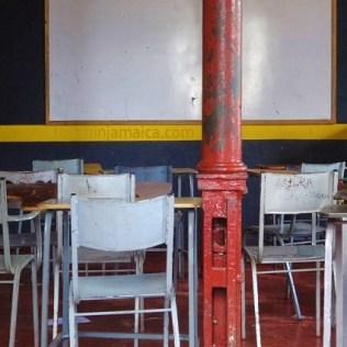 Klassenzimmer im Munroe College