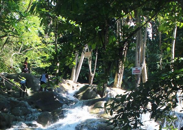 Wasserfall bei Ocho Rios Jamaika