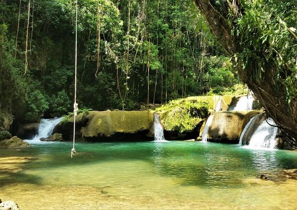 Y.S.- Falls im Südwesten Jamaikas