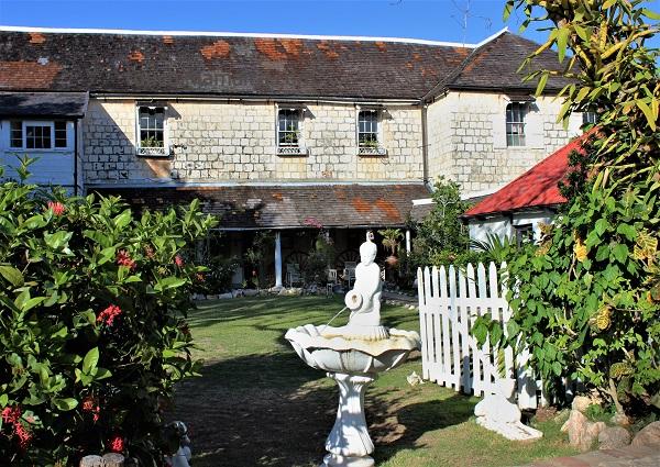 Garten des Greenwood Greathouse