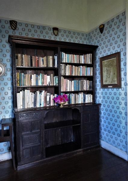 Büchersammlung im Greenwood Greathouse
