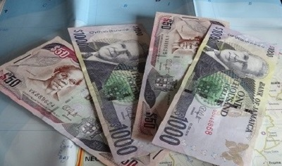 Jamaica Dollar JMD