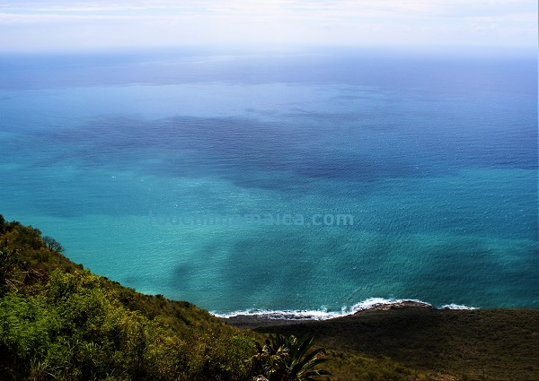 Romantische Klippe Lovers Leap auf Jamaika