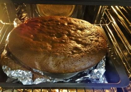 """Kleiner """"Überläufer"""" - Jamaican Christmas Cake in progress"""