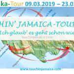 Jamaica-Roadtrip 2019-Map