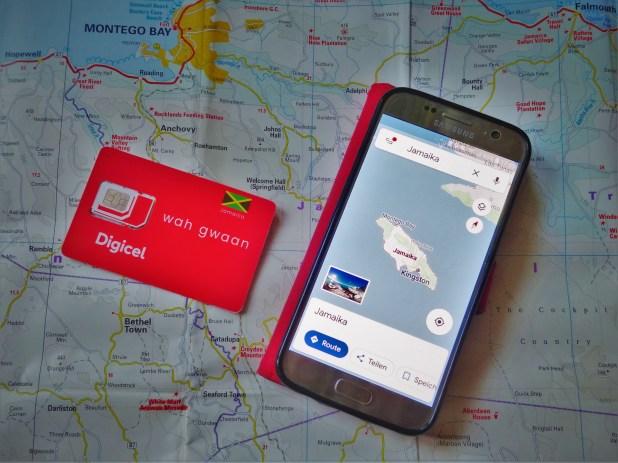 Digicel SIM-Karte für Jamaika