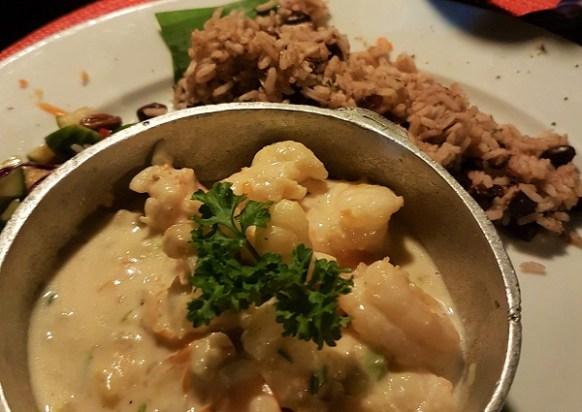 Frischen Fisch und Seafood gibt es in Mrs.T's Kitchen in Ocho Rios .in vielen Variationen