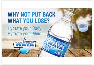 Viel Wasser trinken ist auf Jamaika Pflicht!