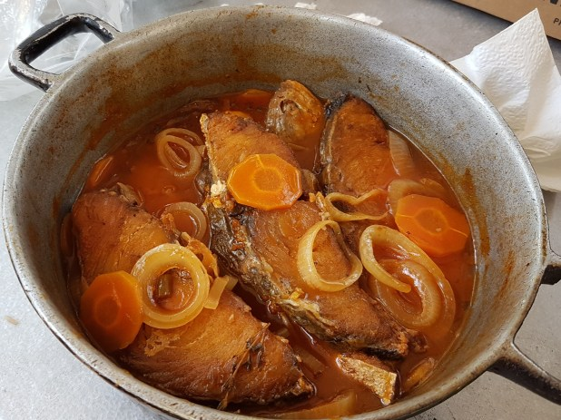 Brown Stew Kingfish