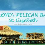 Eine Bar mitten im Meer - Floyd's Pelican Bar auf Jamaika.