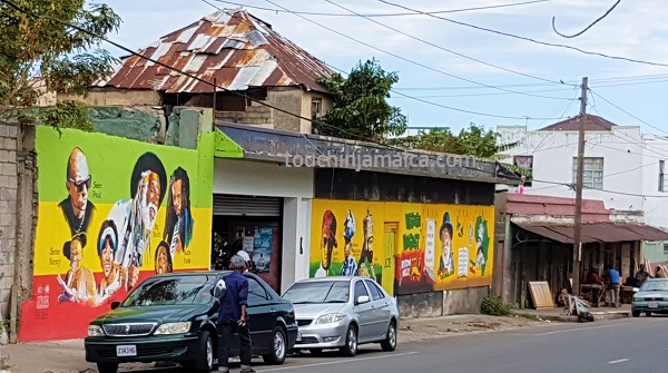 Orange Street in Kingston/Jamaika