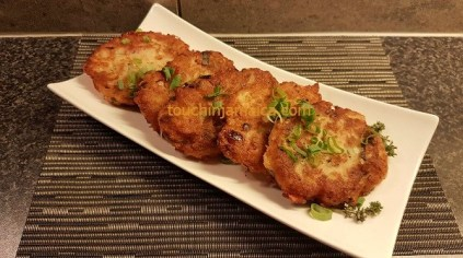 Goldbraune Saltfish Fritters - ein leckeres Gericht aus der jamaikanischen Alltags - Küche.