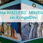 Im Wailer's Museum in kingston erzählt eine lebendige Ausstellung die Geschichte von Bunny Wailer und den Gründungsmitgleidern der Wailers.