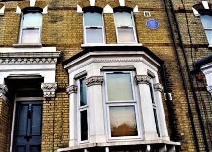 In der Talgarth Road in London/UK verbrachte Marcus Garvey seine letzten Lebensjahre.