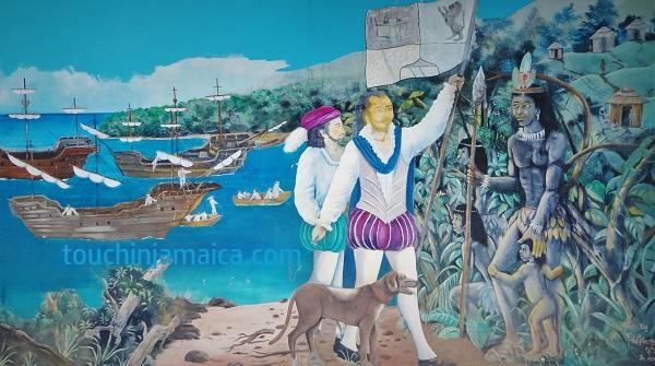 Columbus entdeckt Jamaika