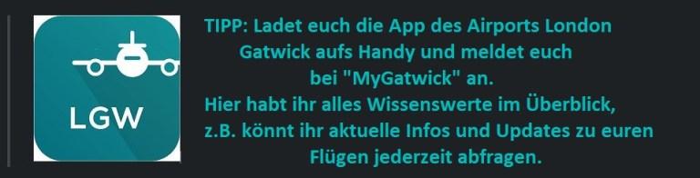 MyGatwick App