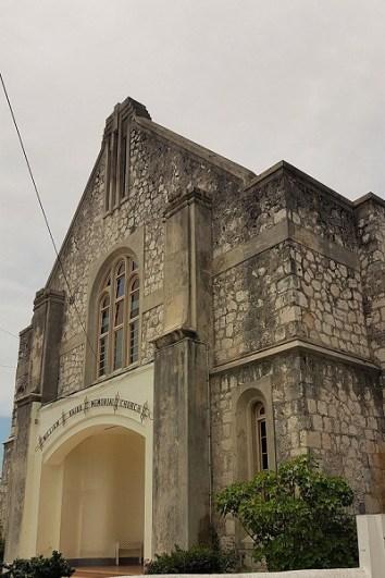 Stadtrundgang in Falmouth/Jamaika - Kirche William Knibb