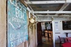 Terasse im Lobster Bowl Restaurant in Rio Bueno/Jamaika