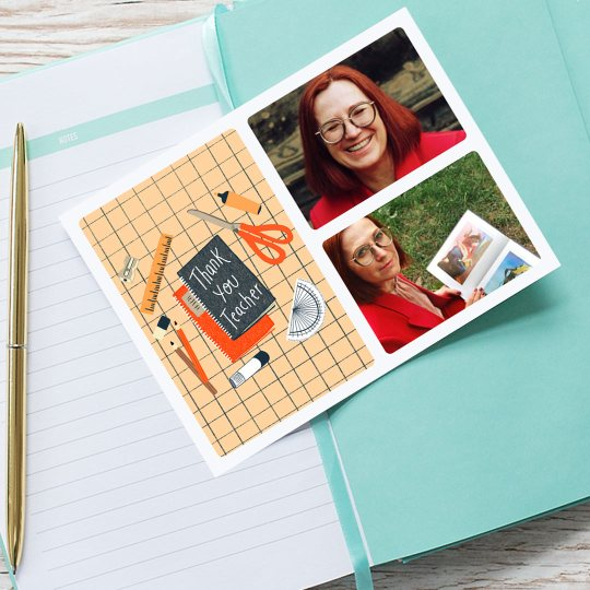 TouchNote Thank You Card