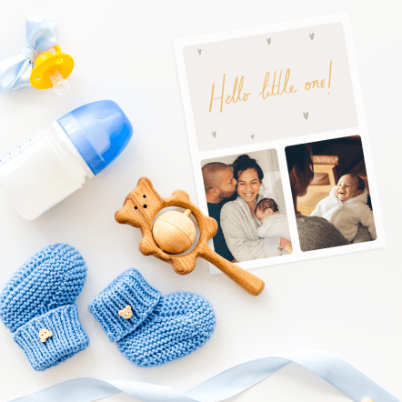 TouchNote New Baby Cards