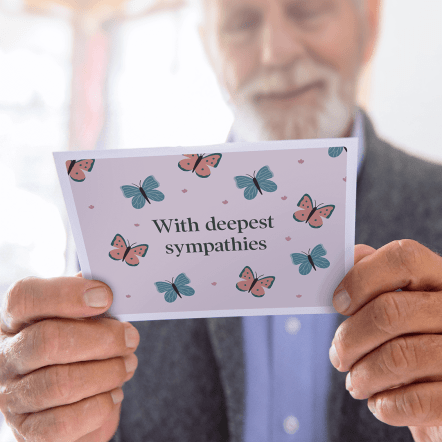 TouchNote Sympathy Cards