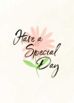 Have a Special Day Birthday Card