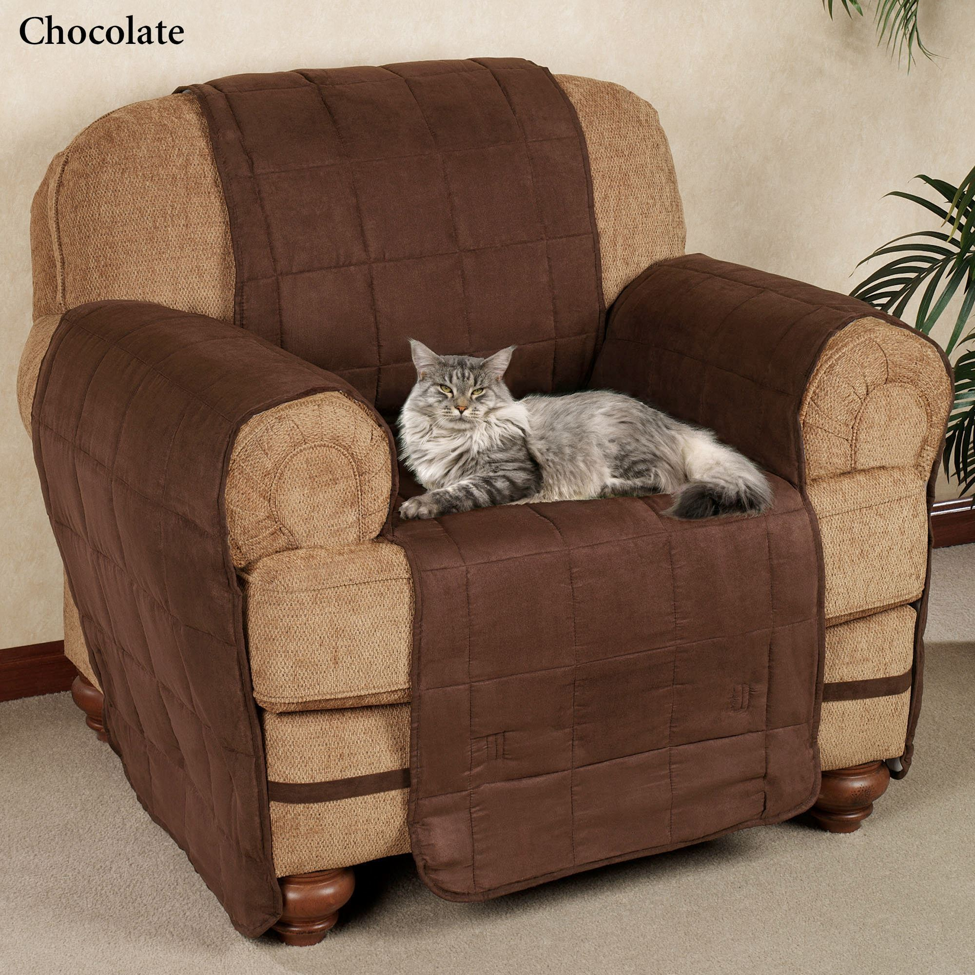 Pet Chair Covers Ultimate Pet Furniture Protectors With Straps