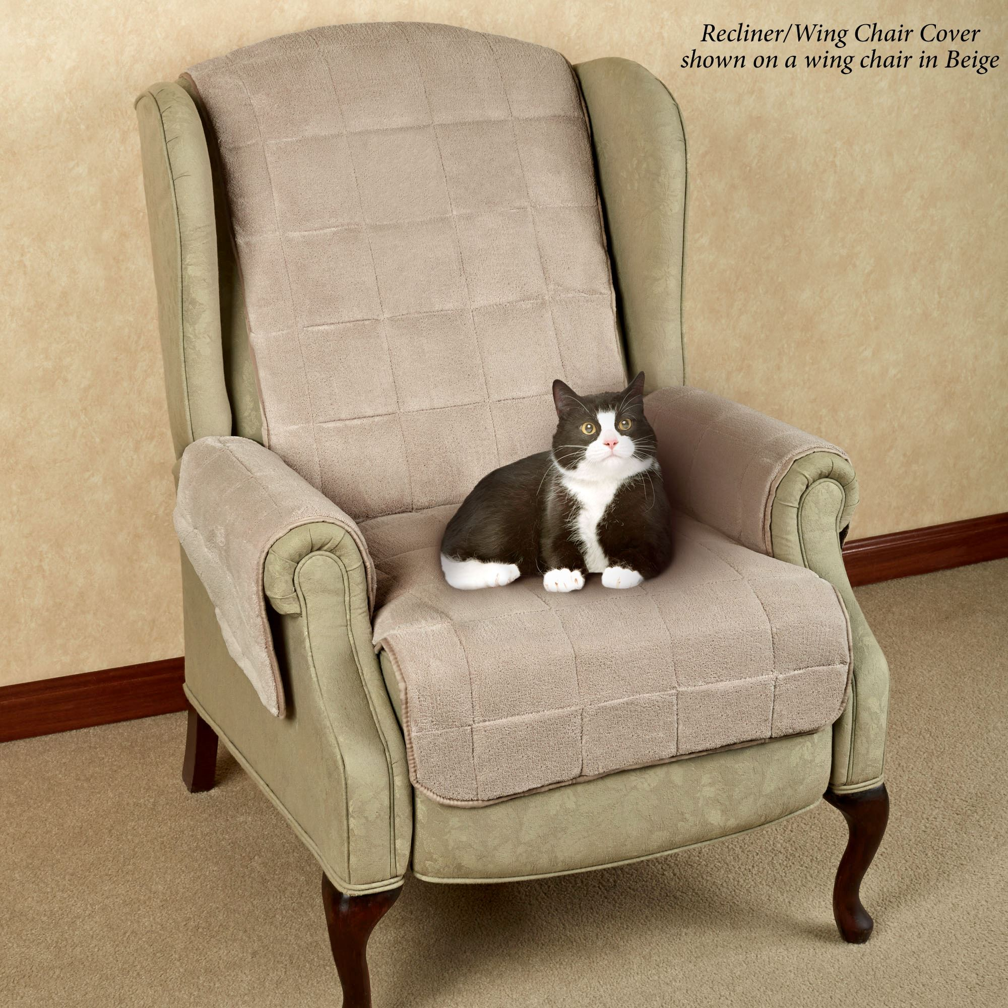 Pet Chair Covers Microplush Pet Furniture Covers With Longer Back Flap