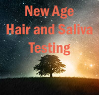 new age medicine hair and saliva testing