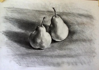 pencil pears 3 contrast