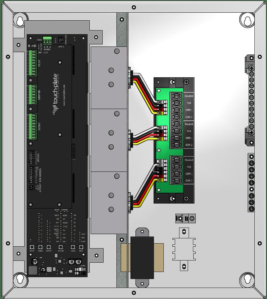 medium resolution of zonez dimmer panels