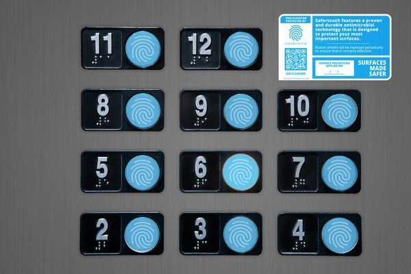 Antimicrobial Elevator Buttons stickers