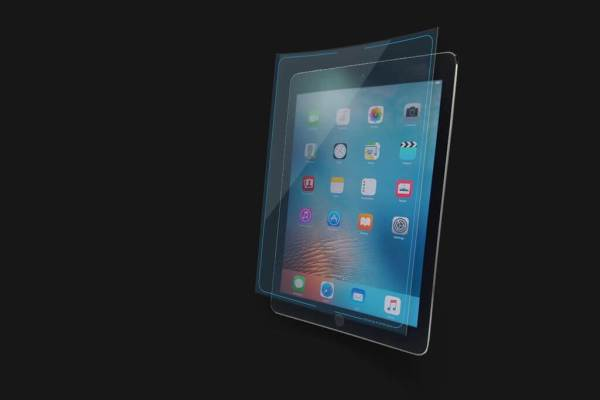 iPad antimicrobial screen cover