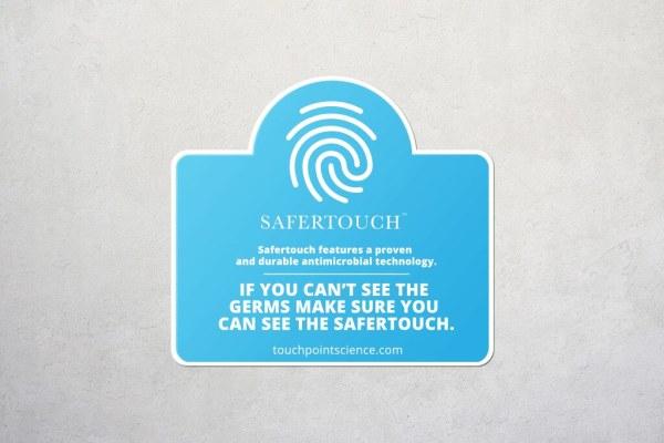 Blue Arch Awareness Sticker