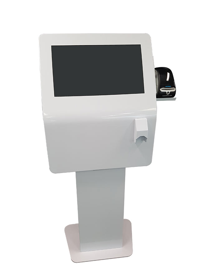 Silhouette S22 with Barcode   Touch Screen Solutions