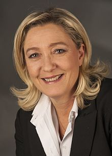 Viva La France!  2 Minute Shredding Of Angela Merkel By Marie Le Pen!!!!!!!  Down With The E.U., The U.N., The CFR, The Trilateralists, And All The Other World Government Thugs!!!!