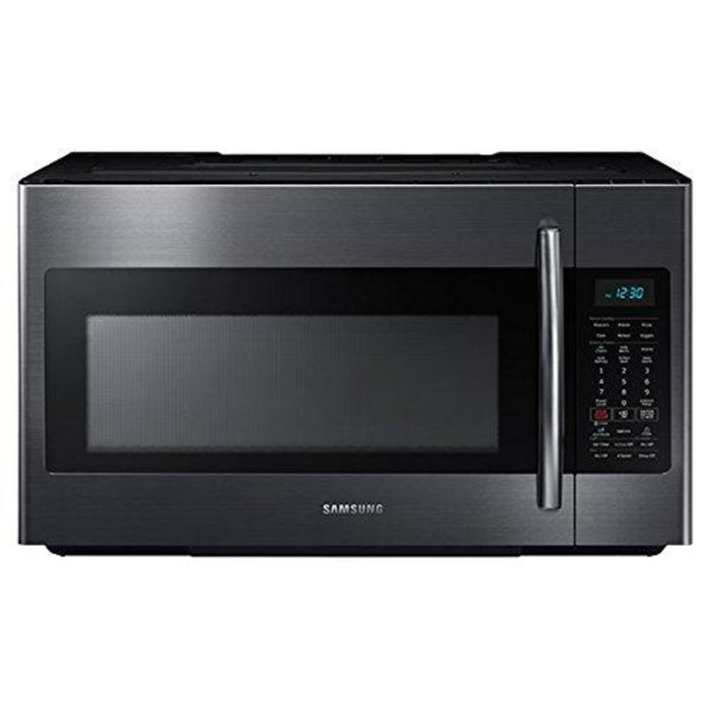 samsung 1 8 cu ft black stainless steel over the range microwave touchstonedeals