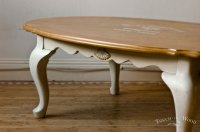 Shabby Chic Oval Coffee Table no. 01 - Touch the Wood