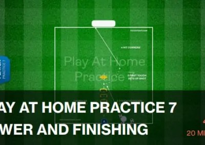 Play At Home | Individual Finishing Drill (40-P7)