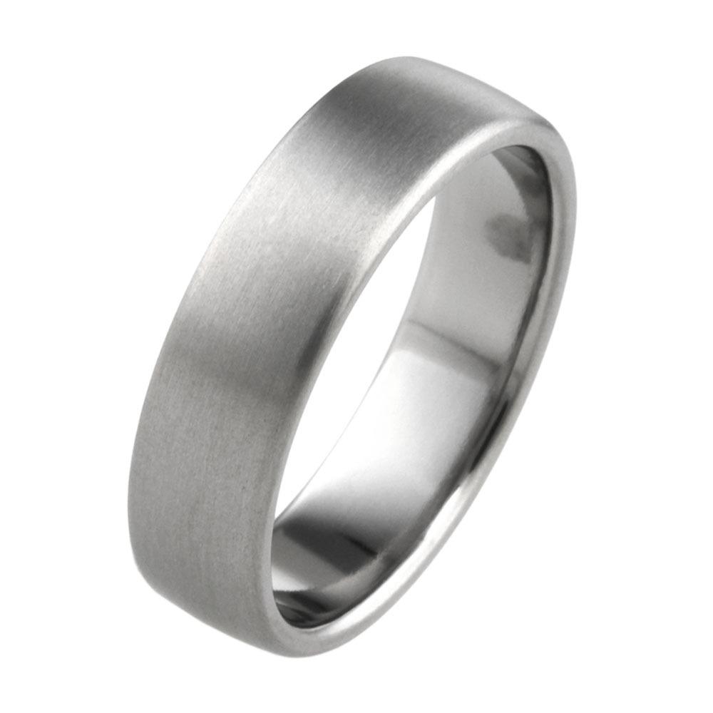 Titanium wedding ring. Hypoallergenic jewellery from TouchTitanium.com